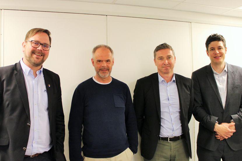 Ordførere, prosjektleder og digitaliseringssjef