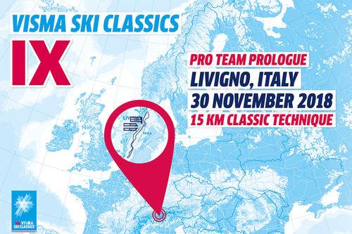 Visma Ski Classics - 1. renn sesongen 2018/2019.