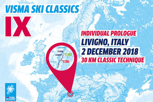 Visma Ski Classics - 2. renn sesongen 2018/2019.