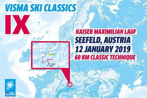 Visma Ski Classics - 3. renn sesongen 2018/2019.