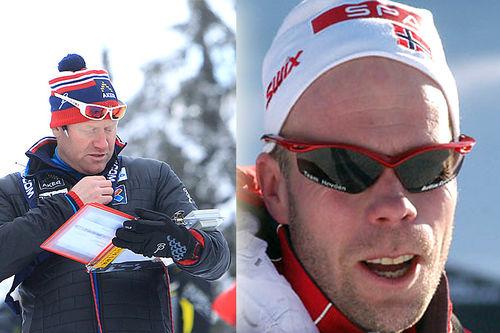 Roar Hjelmeset og Micke Pålsson møtes igjen når de opptar samarbeidet ved Hovden Skigymnas. Foto: Erik Borg (Hjelmeset) og Ivar Haugen (Pålsson).