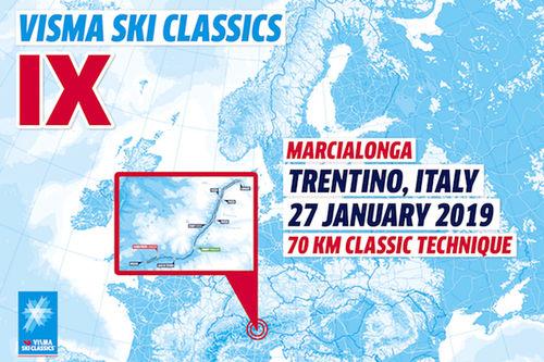 Visma Ski Classics - 5. renn sesongen 2018/2019.