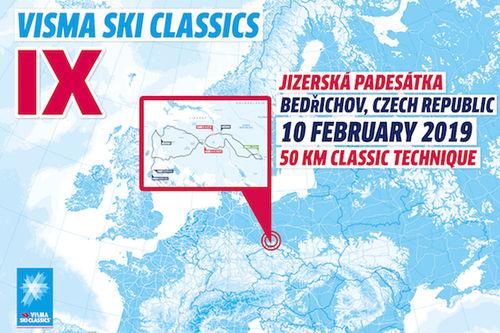 Visma Ski Classics - 7. renn sesongen 2018/2019.