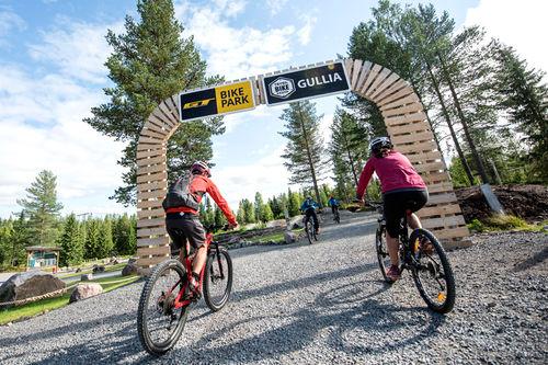 Det er blitt syklet over 100.000 runder på Trysils bygde sykkelstier så langt i sommer. Foto: Vegard Breie.