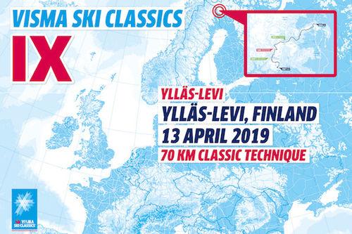Visma Ski Classics - 12. renn sesongen 2018/2019.