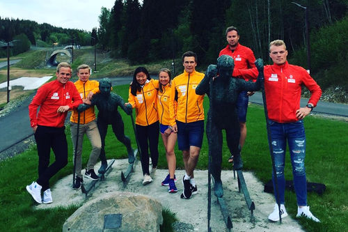 Sør-Trøndelag kretslag sesongen 2018/2019. Foto: Privat.