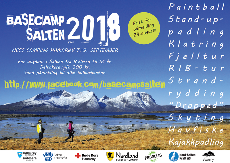 Plakat Basecamp Salten 2018 Hamarøy