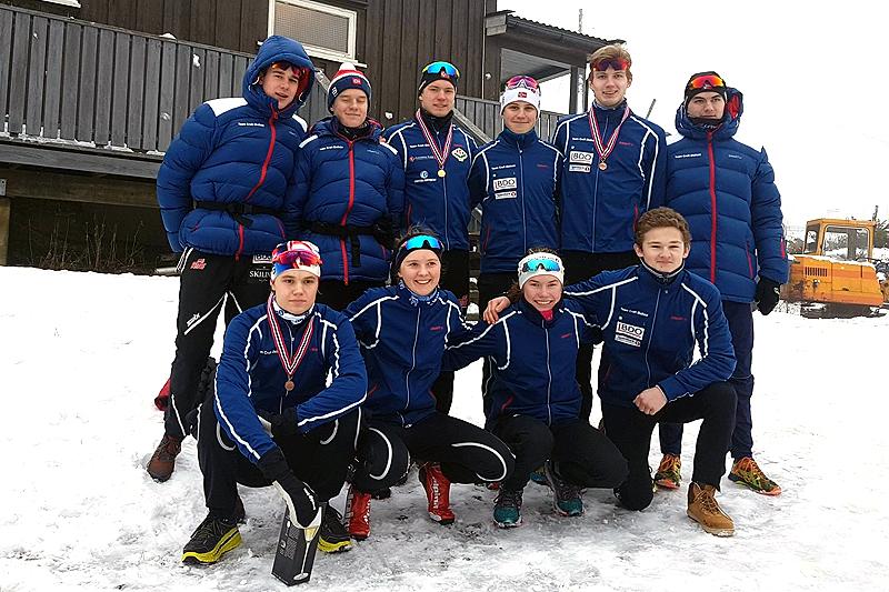 Løperne fra Team Craft Østfold har brukt Torsby som samlingssted i mange år. I slutten av juni går turen over svenskegrensa igjen. Teamfoto.
