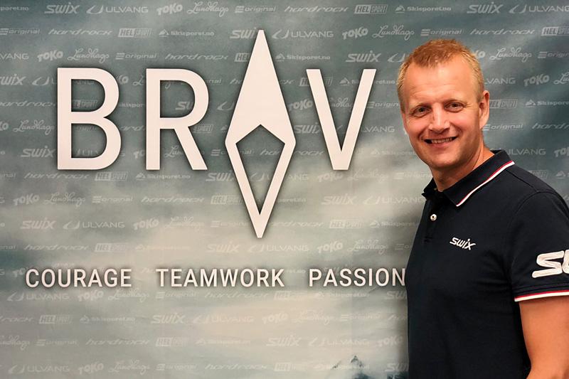 Tomas Holmestad, administrerende direktør i det som tidligere het Swix Sport Gruppen og som nå har endret navn til Brav. Foto: Brav.