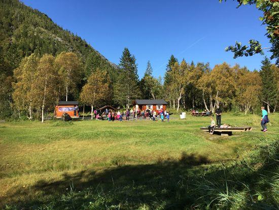 Bildet viser turmålet Marsøra i Vefsn kommune
