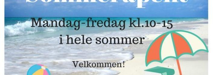 Sommeråpent bibliotek 2018