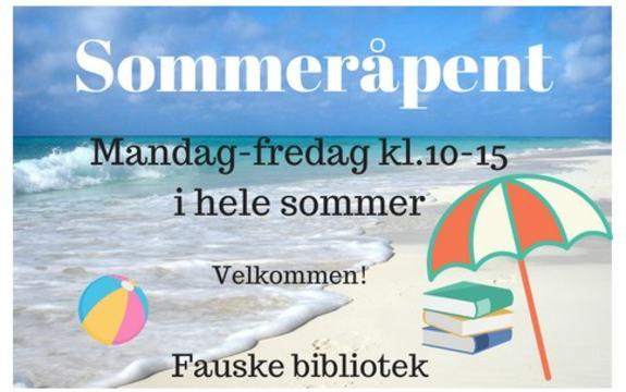Sommereråpent bibliotek 2018