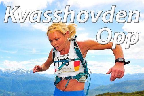 May Britt Buer i Kvasshovden Opp et tidligere år, da med NM i motbakkeløp innlagt. Foto: Kvasshovden Opp.