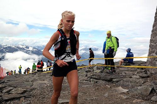 En av deltakerne i Skåla Opp 2017. Foto: Jan Erik Sandbakk.