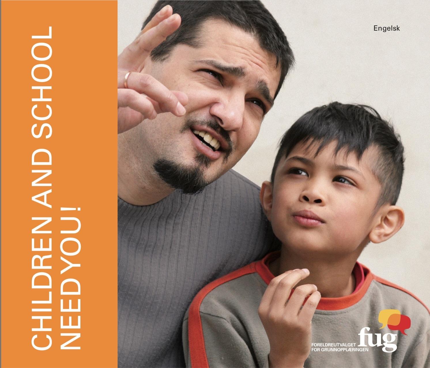 Barna og skolen trenger deg English