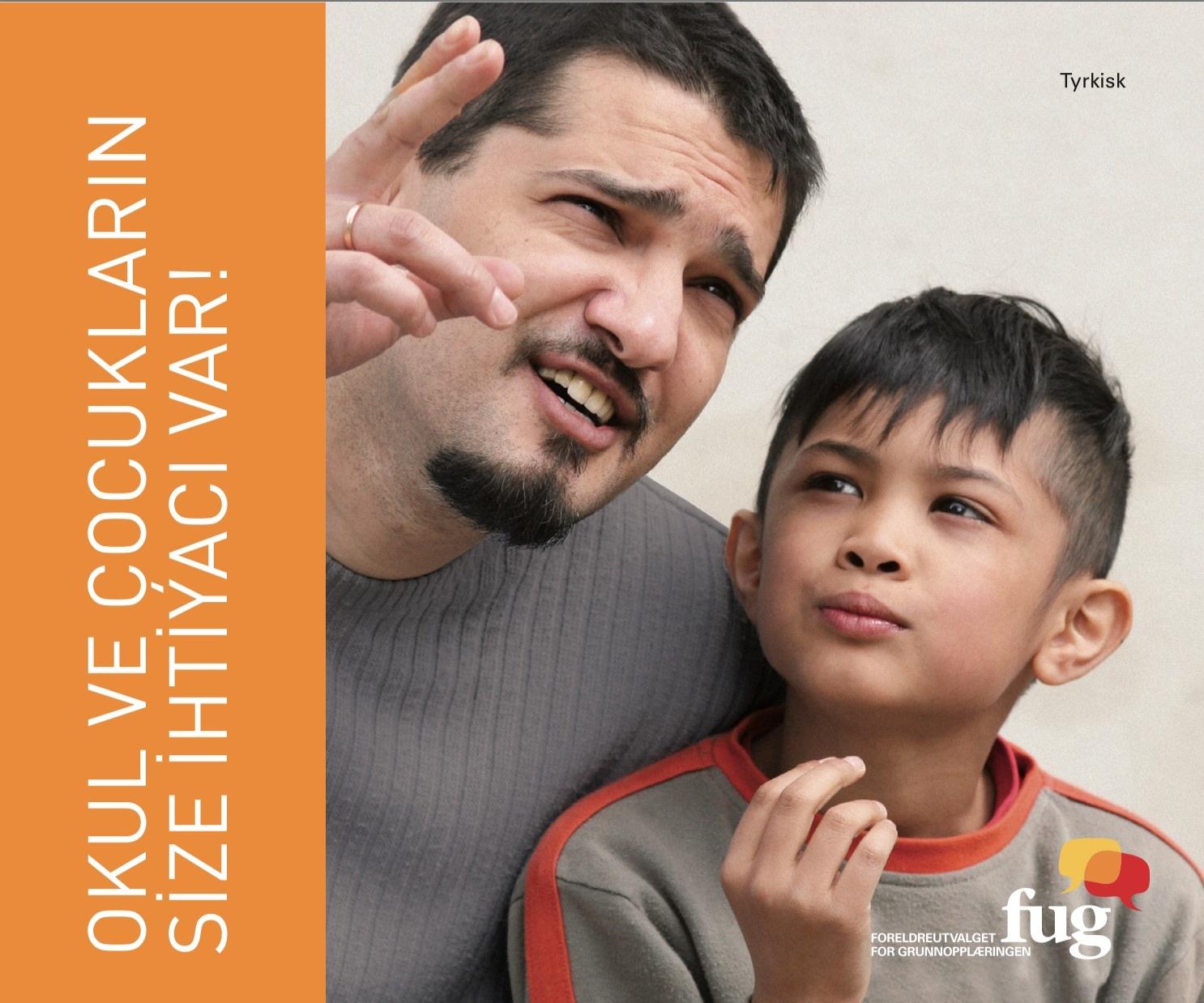 Barna og skolen trenger deg tyrkisk