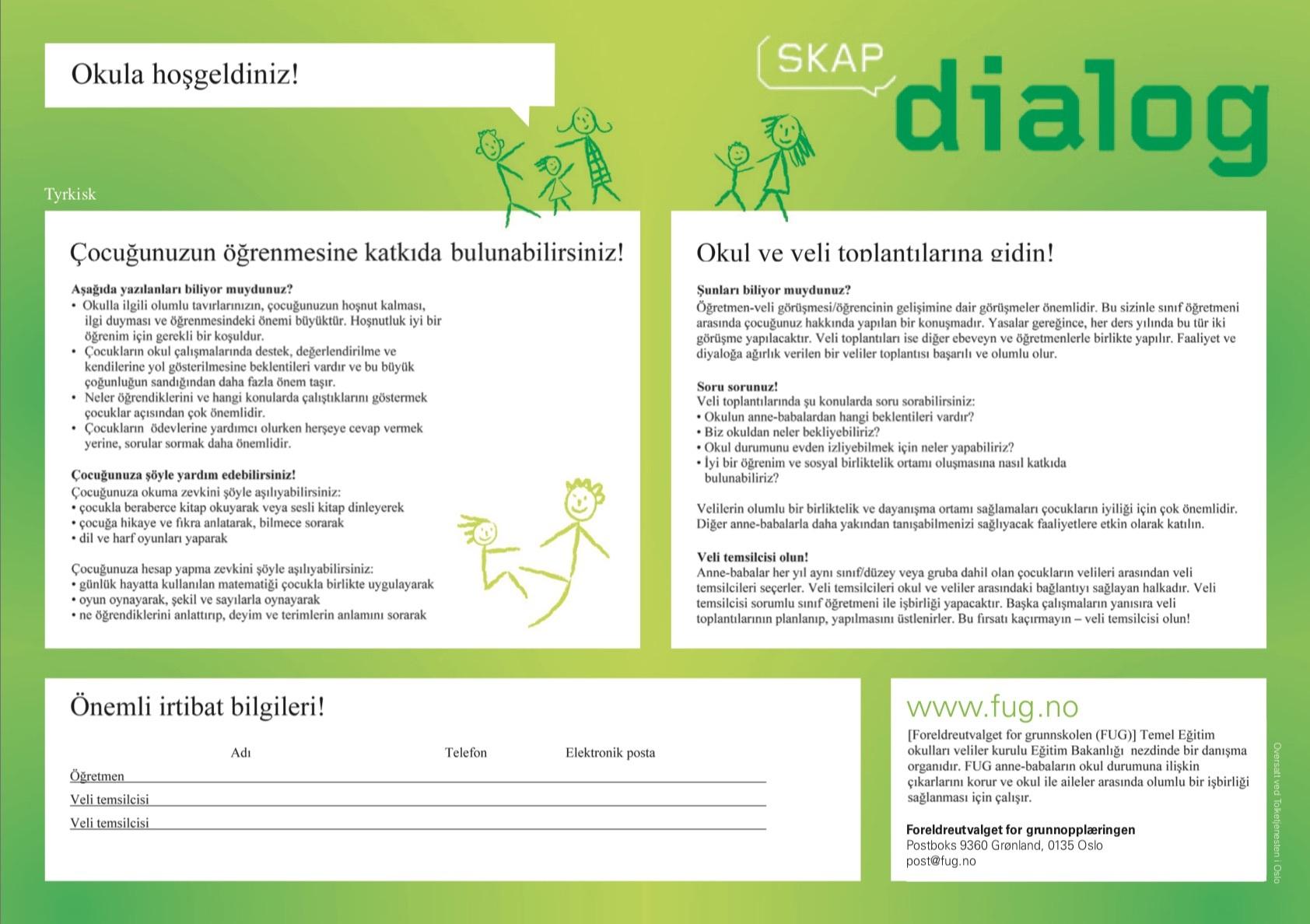 Skap dialog 1 tyrkisk