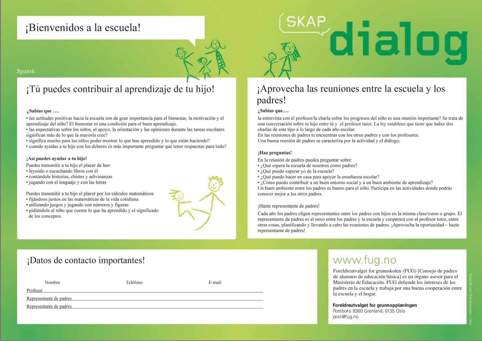 Skap dialog 1 spansk