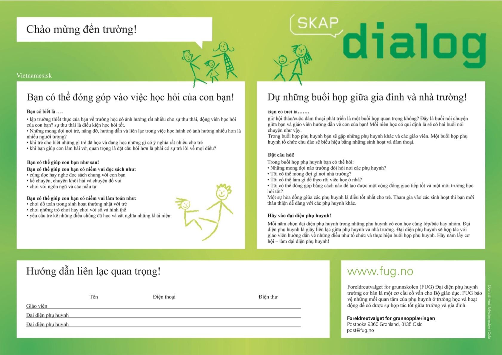 Skap dialog 1 vietnamesisk