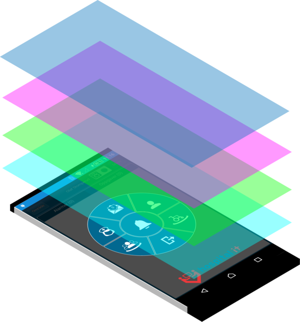 Isometric phone
