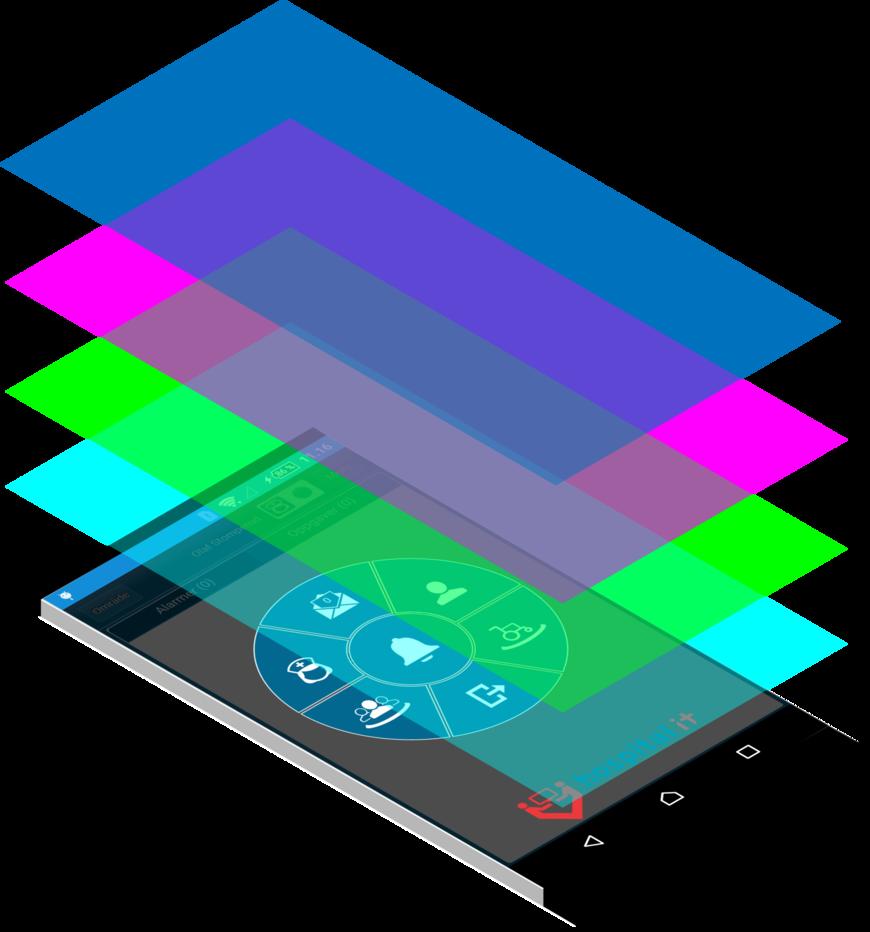 Isometric phone