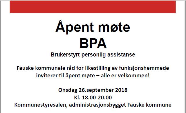 BPA annonse