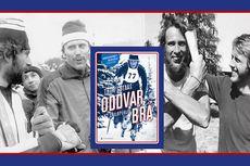 Boken Oddvar Brå - Et skiløperliv av Thor Gotaas. Her Oddvar sammen med Thomas Wassberg og Juha Mieto.