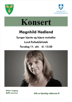 Konsert Magnhild Hadland 2018
