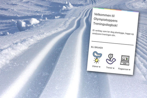 Olympiatoppens nye digitale treningsdagbok har skapt mye frustrasjon i miljøet etter lansering. Foto/grafikk: Langrenn.com. Skjermdump fra OLT Treningsdagbok innfelt.