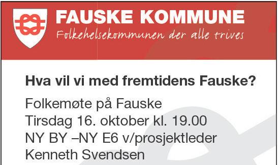 Ny by Ny E6 - Folkemøte