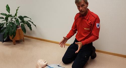 ambulansetjenesten ved SUS underviste mannskapene