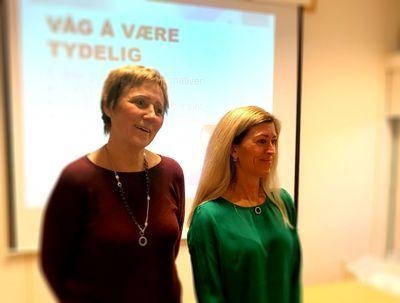 Åshild og Merete tilbyr kurs til barnehage-foreldre