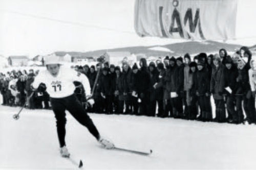 Fra boka Oddvar Brå - Et skiløperliv, av Thor Gotaas: Uttakingsrenn til junior-EM på Hølonda vinteren 1970.