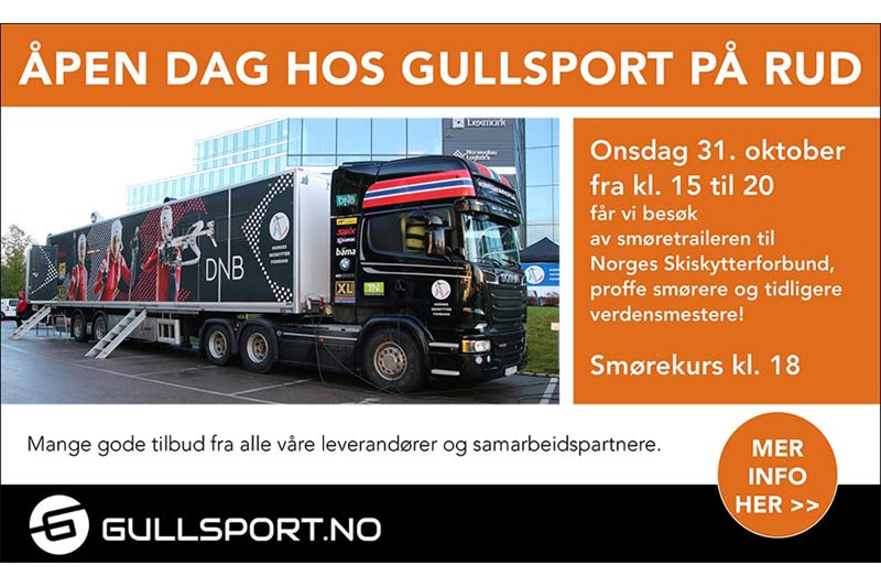 NQ Sport og Gullsport.no med samarbeidspartnere inviterer til åpen dag.