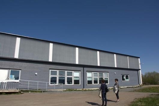 Inngang Hamarøy treningssenter