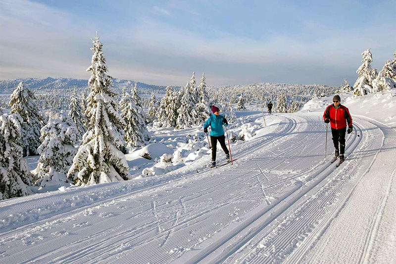 Fra boka 35 turer i verdens beste skiterreng.
