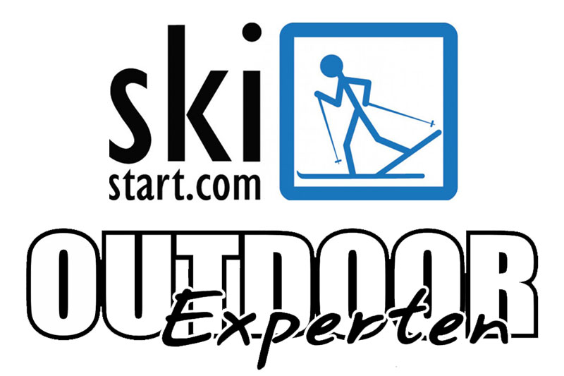 Logoer for Skistart.com og Outdoorexperten.se.