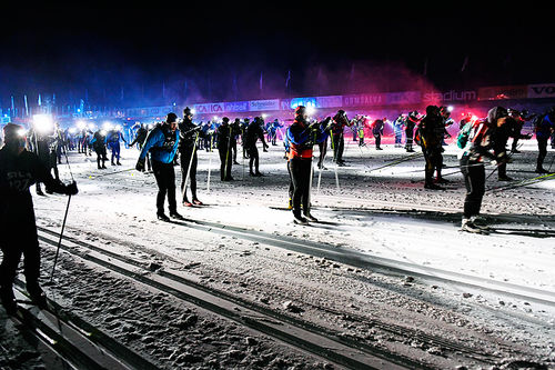 Nattvasan. Foto: Vasaloppet/Ulf Palm.