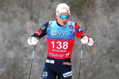 Finn Hågen Krogh under sesongåpningen på Beitostølen 2018. Foto: Erik Borg.