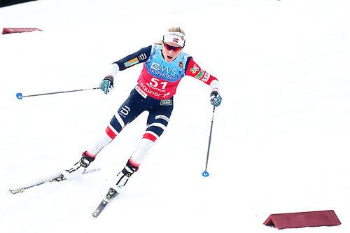 Therese Johaug. Foto: Erik Borg.