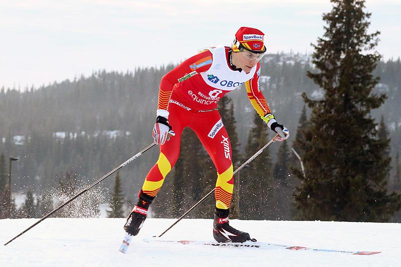 Heidi Weng under sesongåpningen på Beitostølen 2018. Foto: Erik Borg.