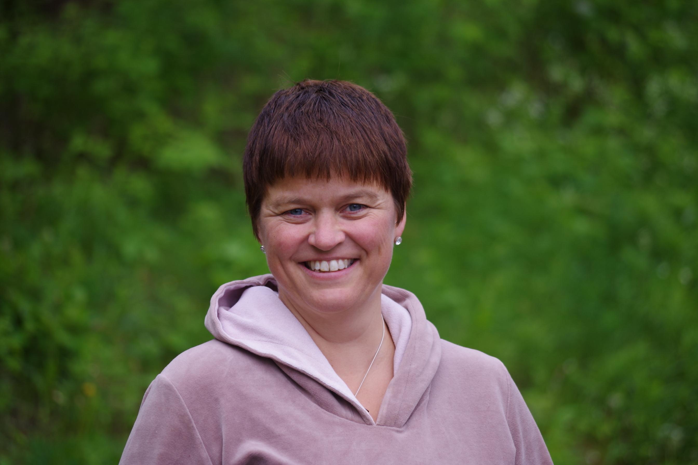 Gina Onsrud Jensen tleder avlsavd.JPG