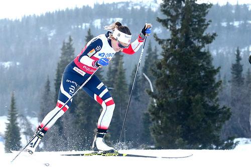 Maiken Caspersen Falla. Foto: Erik Borg.