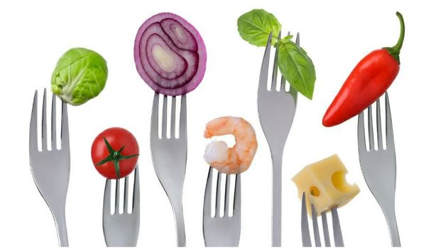 Mat på gafler