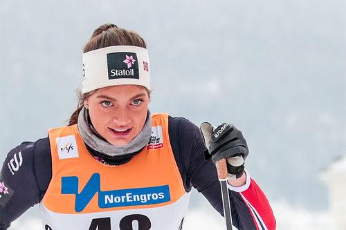 Kristine Stavås Skistad. Foto: Modica/NordicFocus.
