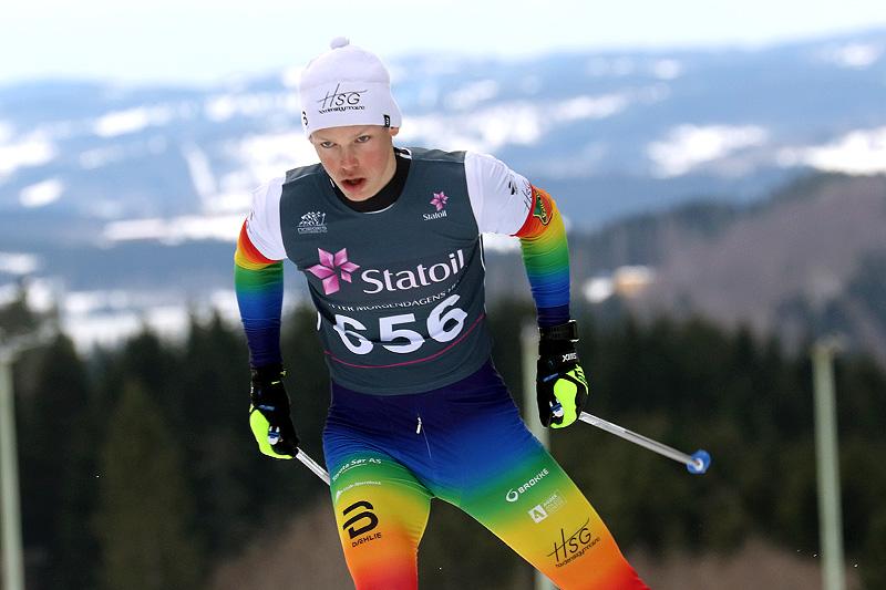 Aron Åkre Rysstad. Foto: Erik Borg.