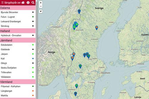 Illustrasjonsbilde. Grafikk fra Längdspår.se.