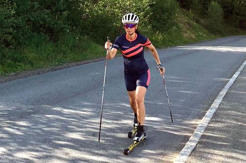 Graviditet og trening er fortsatt litt tabu, sier idrettsforsker Silje Stensrud. Foto: Privat.