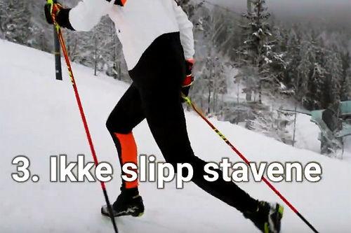 Teknikkurs i langrenn i samarbeid med Sindre Wiig Nordby og Milslukern Sport. Foto fra YouTube.