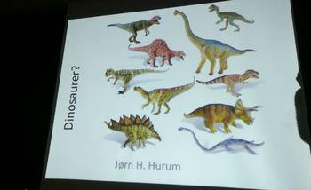 Jørn H. Hurum forteller om dinosaurer
